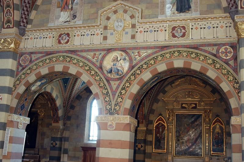 Morgari L. - Secchi A. (1896-1897), San Matteo in clipeo e motivi decorativi