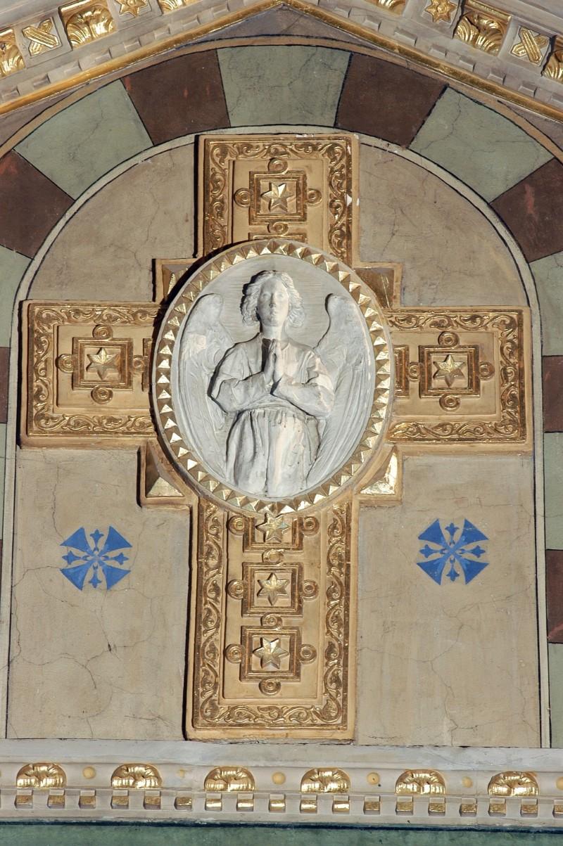 Secchi A. (1896-1897), Croce e angelo orante