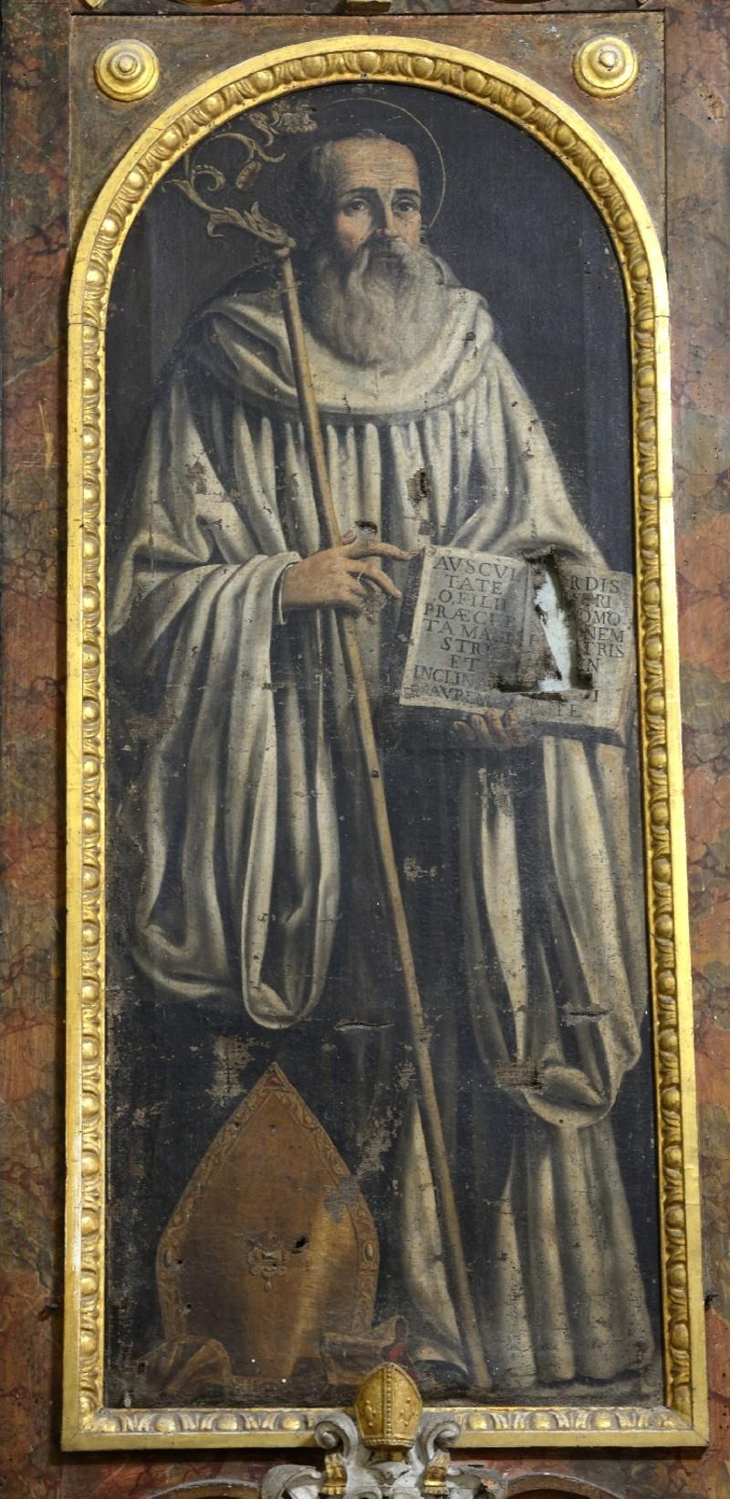 Lucatelli P. sec. XVII, Dipinto di San Benedetto