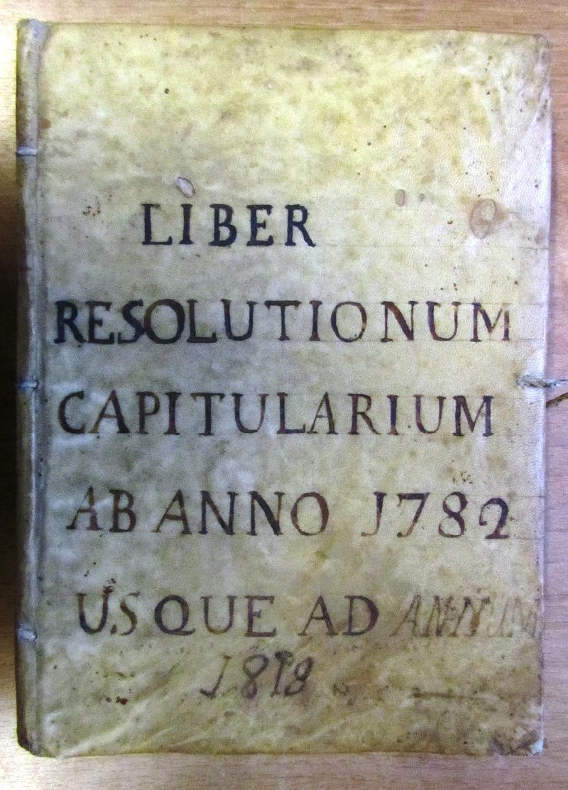 Fondo del Capitolo di S. Angelo in Spatha <Viterbo>.