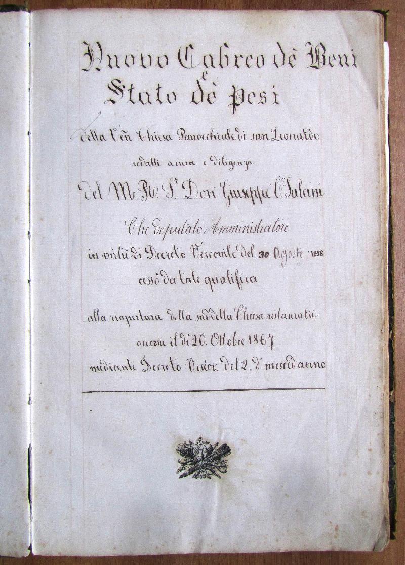 Fondo della parrocchia di S. Leonardo <Viterbo>