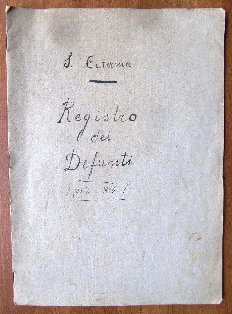 Fondo della parrocchia di S. Caterina <Viterbo>