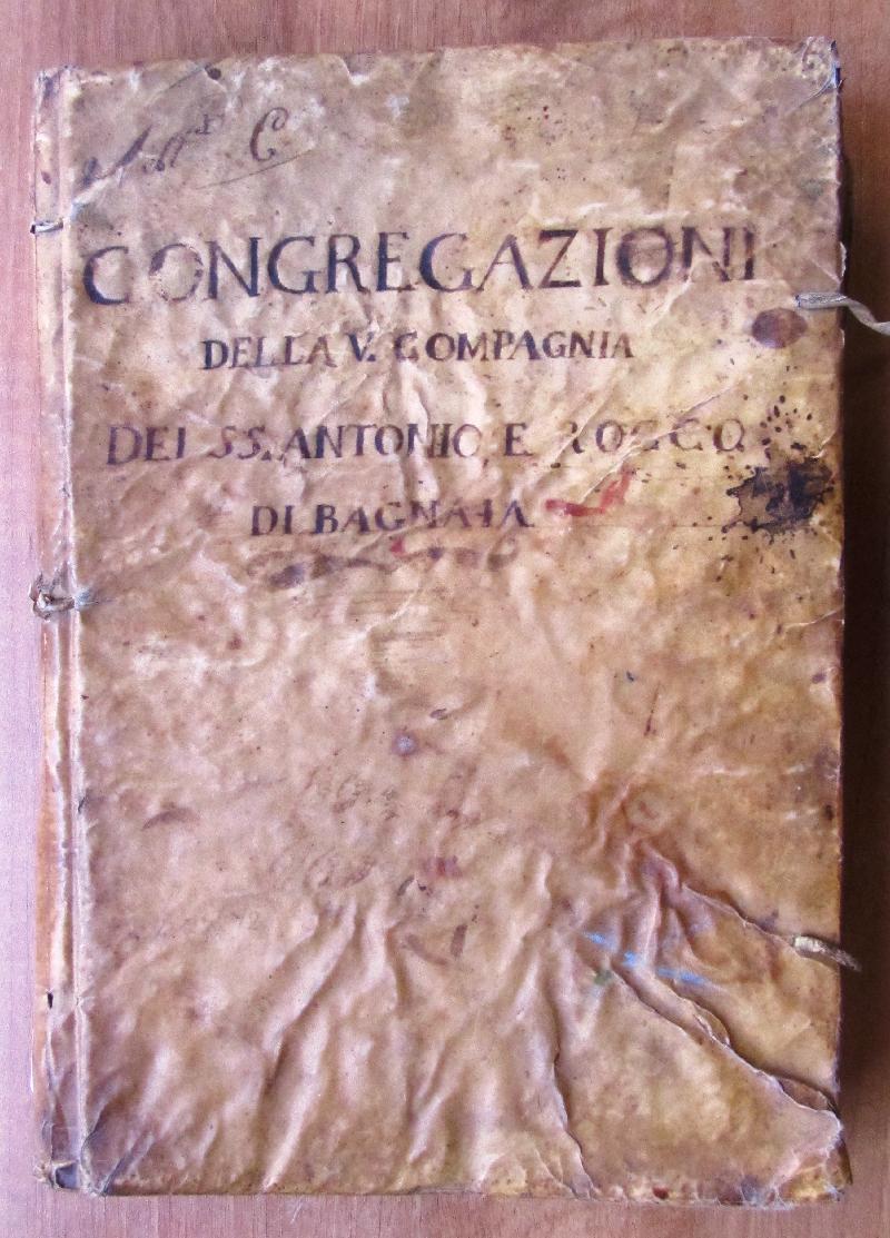 Fondo della Confraternita dei SS. Antonio e Rocco <Bagnaia>