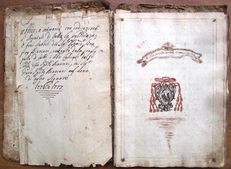 Fondo della parrocchia di S. Andrea <Vetralla>