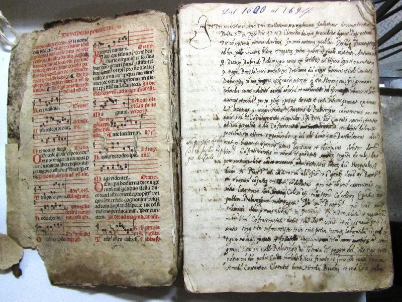 Fondo della parrocchia di S. Donato in Civita di Bagnoregio <Bagnoregio>