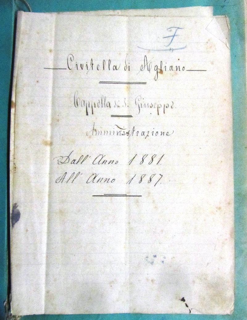 Fondo della parrocchia dei SS. Pietro e Callisto in Civitella D'Agliano <Civitella D'Agliano>