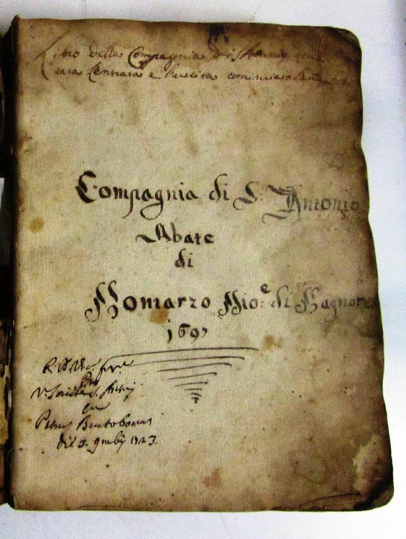 Fondo della Compagnia di S. Antonio in S. Maria Assunta a Bomarzo <Bomarzo>