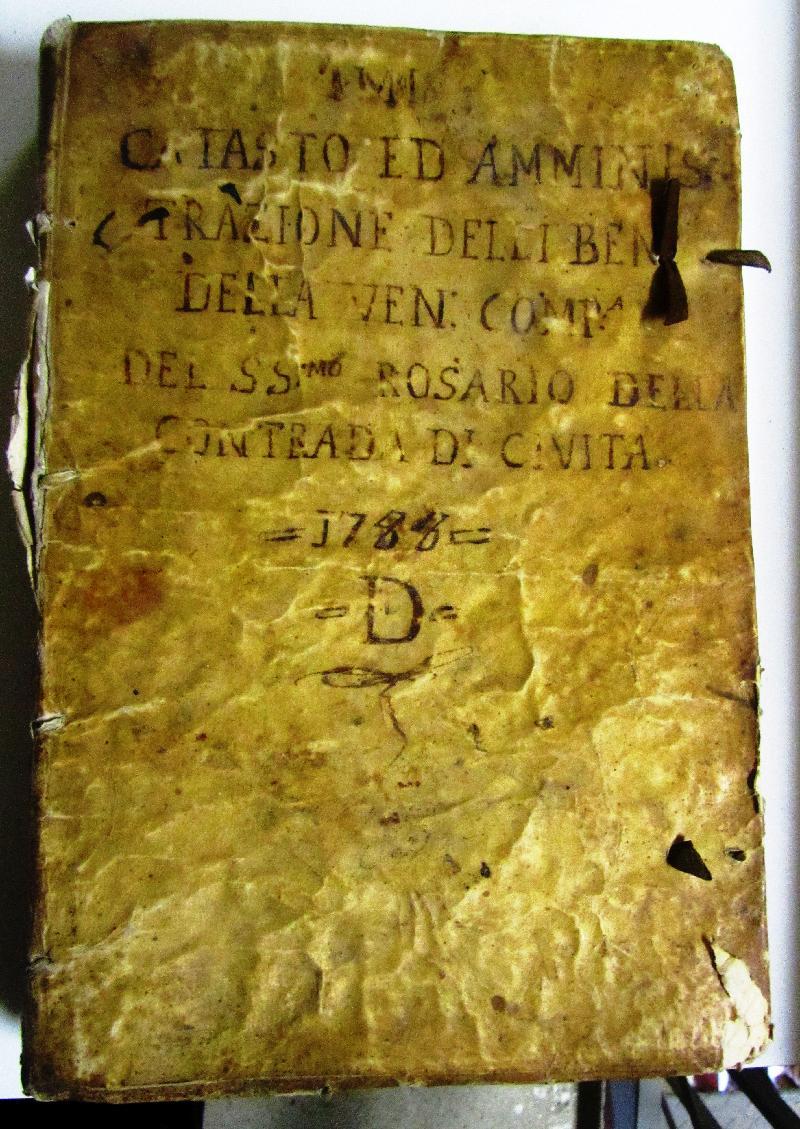Fondo della Compagnia del Rosario in S. Donato a Civita di Bagnoregio <Civita di Bagnoregio, Bagnoregio>
