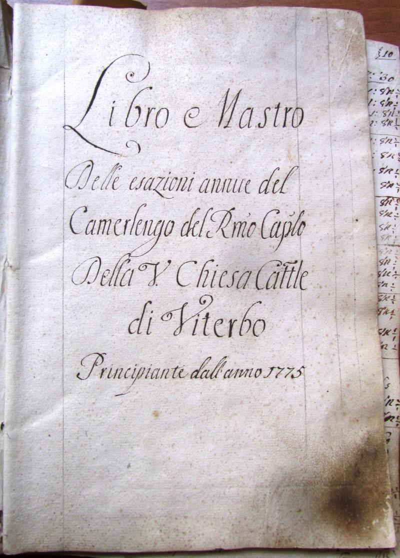 Fondo del Capitolo della Cattedrale di Viterbo <Viterbo>