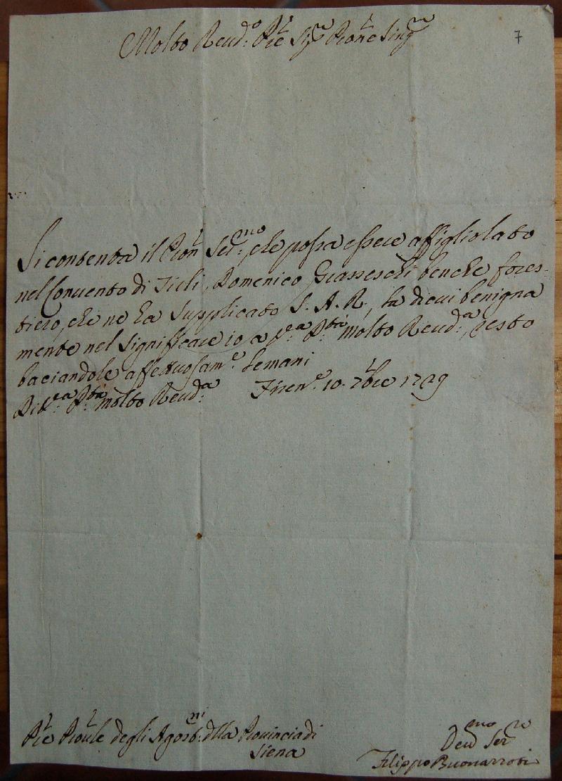 Fondo della Provincia agostiniana di Siena <Siena>
