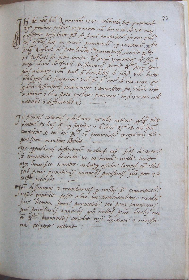 Fondo della Provincia agostiniana di Pisa <Pisa>
