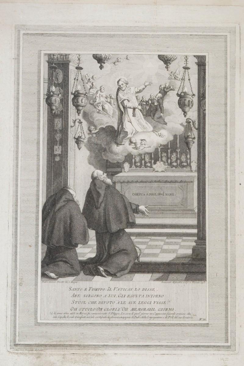 Alessandri I. (1793), Canonizzazione di San Filippo Neri