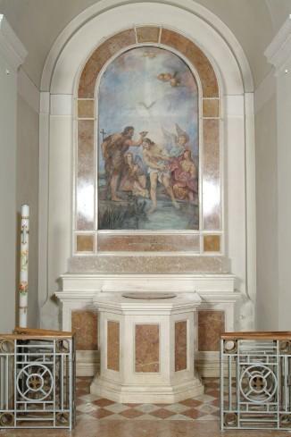 Maestranze venete (1933), Battistero