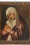 Attribuito a bottega di Vecellio T. sec. XVI, Madonna addolorata