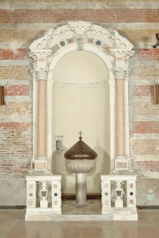Maestranze venete sec. XVII, Battistero