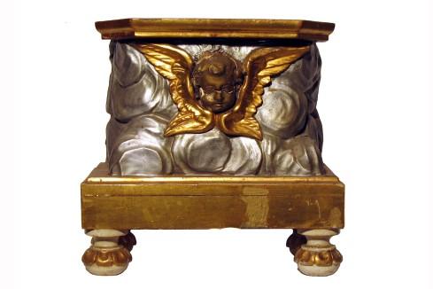 Bott. toscana sec. XIX, Espositorio con cherubino