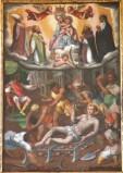 Ambito marchigiano sec. XVI-XVII, San Lorenzo sulla graticola tra santi