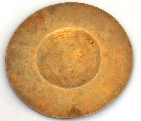 Bott. romana sec. XVIII-XIX, Patena in argento parzialmente dorato