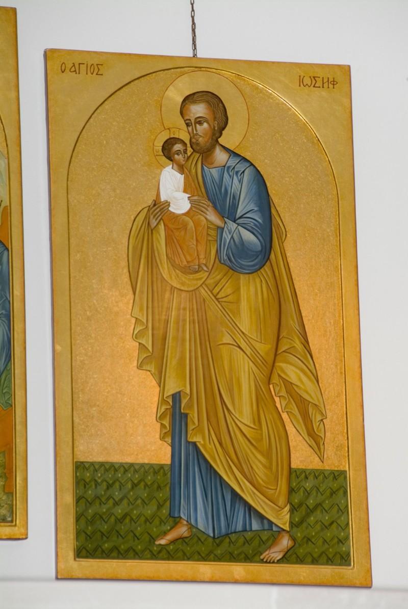 Suor Marie Paul secc. XX-XXI, Icona con San Giuseppe e Gesù bambino