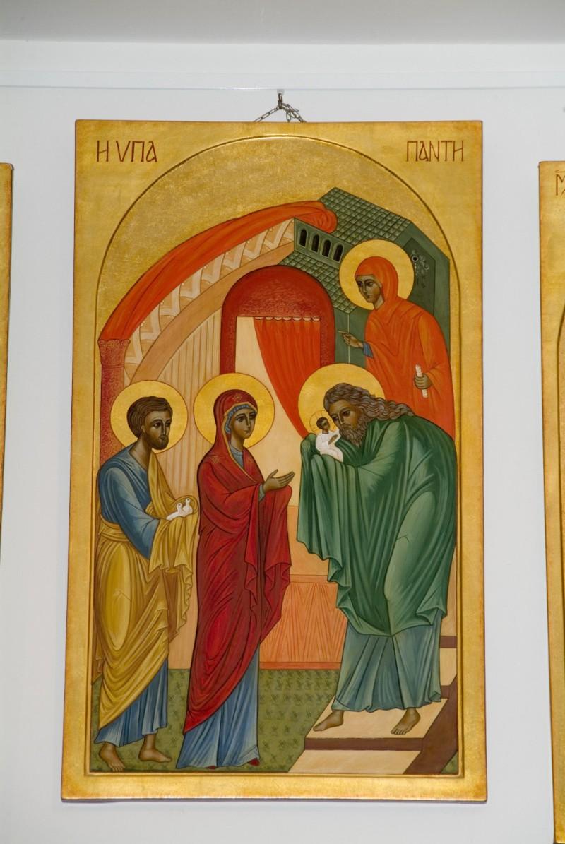 Suor Marie Paul secc. XX-XXI, Icona con Presentazione di Gesùal tempio