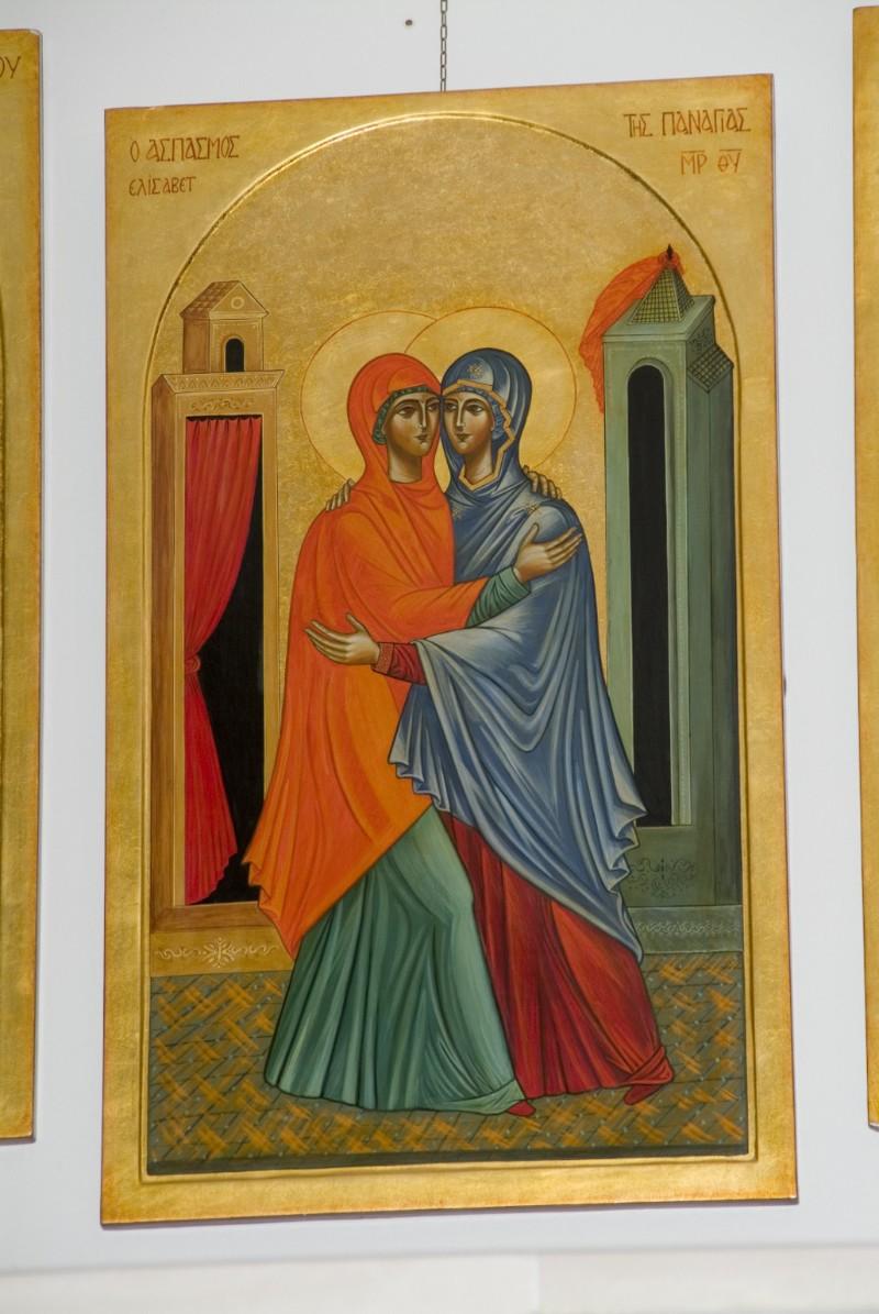 Suor Marie Paul secc. XX-XXI, Icona con la Visitazione