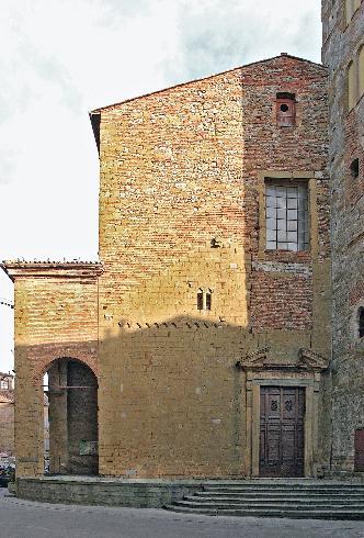 La facciata della Chiesa dei Santi Gervasio e Protasio