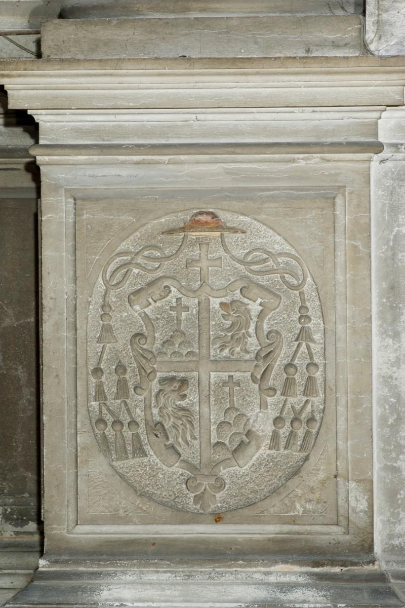 Tatti J. detto Sansovino (1557-1559), Stemma dell'arcivescovo Podacataro 1/2
