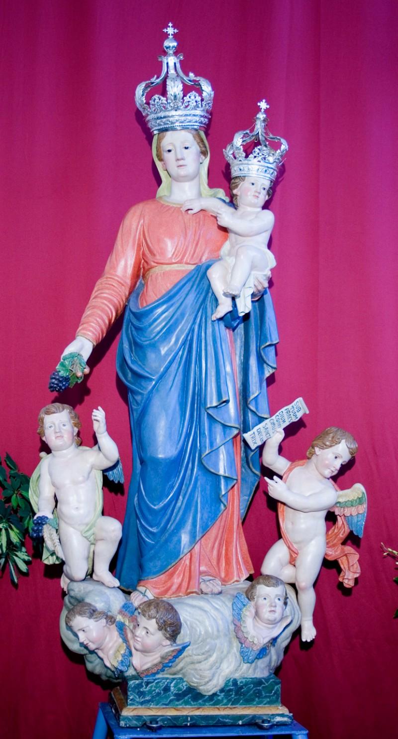 Ambito di Filippo Quattrocchi sec. XIX, Madonna delle Grazie