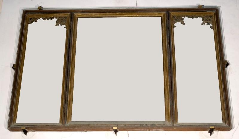Bott. fiamminga sec. XV, Cornice del dipinto de La Madonna degli Angeli