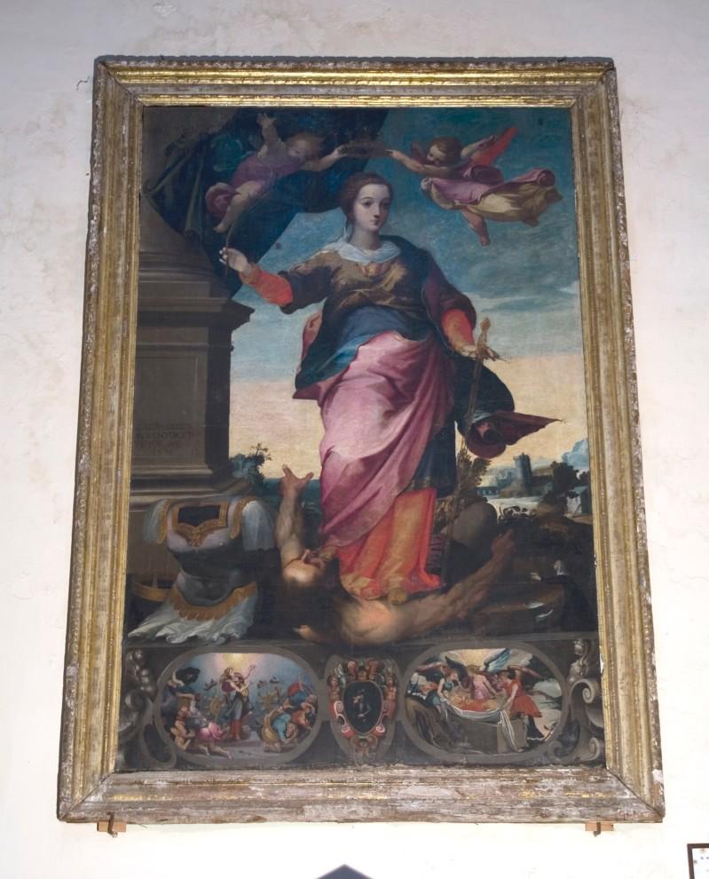 Alvino G. (1596), Santa Caterina d'Alessandria e storie della sua vita