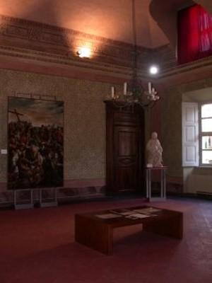 Palazzo dei Vescovi di Saluzzo, Sala Verde