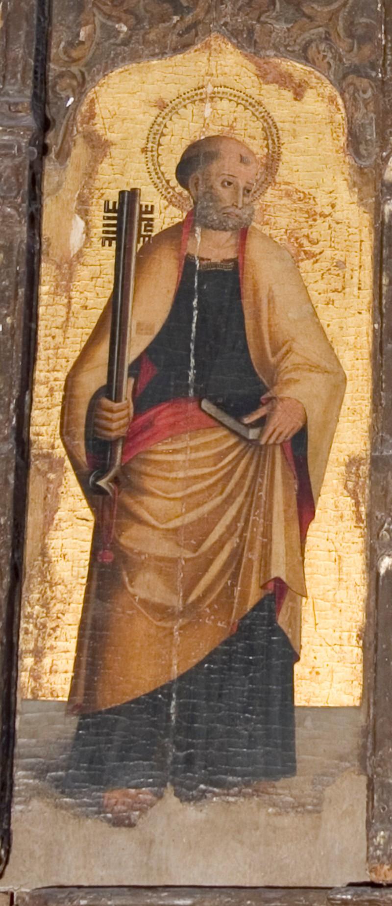 Ambito italiano sec. XV. San Pietro