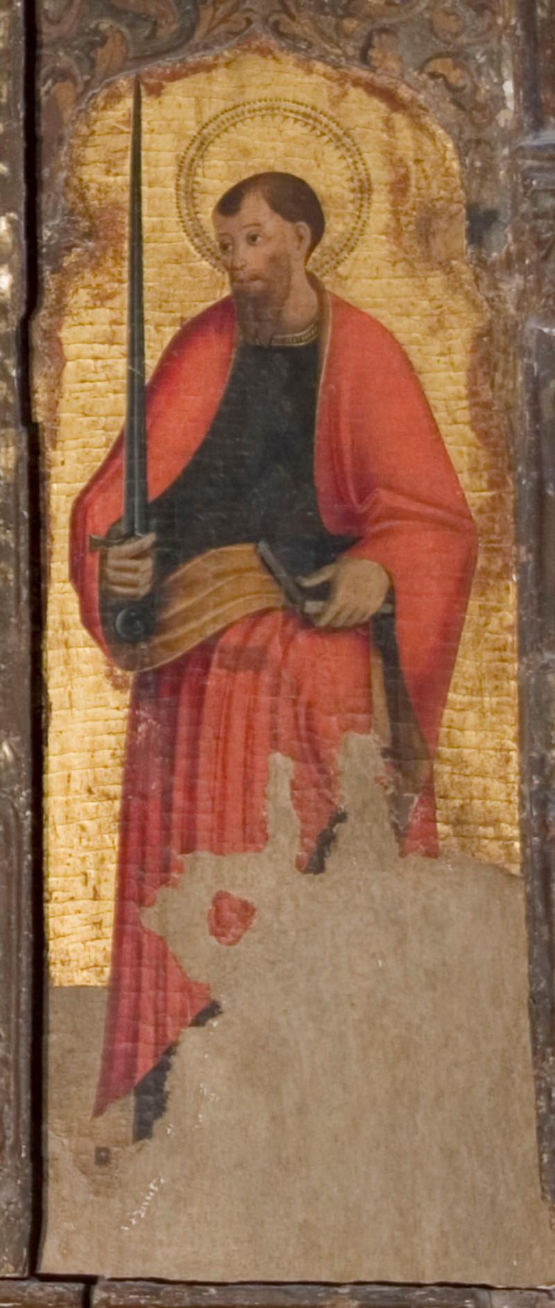 Ambito italiano sec. XV, San Paolo