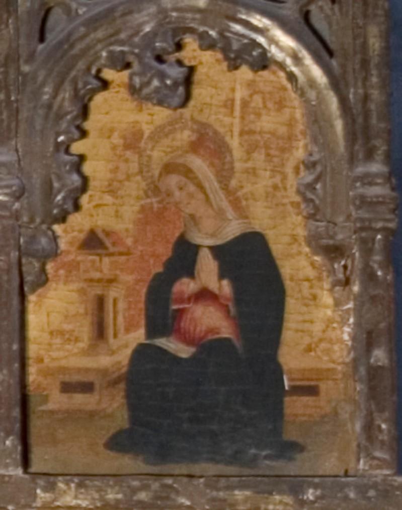 Ambito italiano sec. XV, Madonna Annunciata