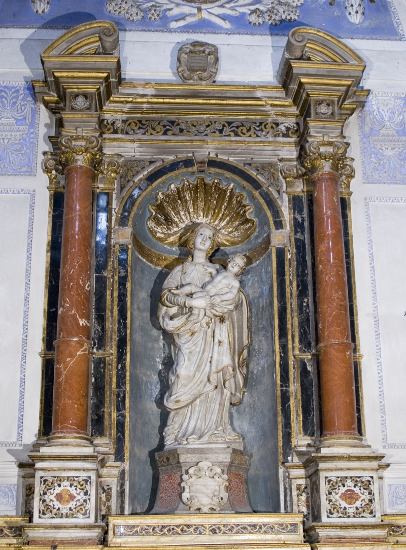 Ambito palermitano sec. XVIII, Macchina d'altare