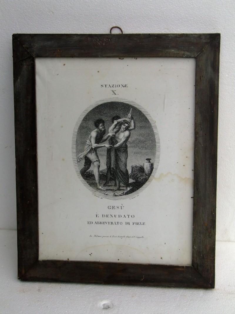 Agricola L. - Rados L. sec. XIX, Gesù spogliato e abbeverato di fiele