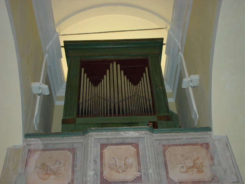 Agati N. (1843), Organo a canne