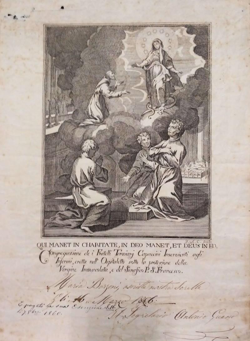 Fondo della Congregazione di Carità dei Terziari Servi dei poveri infermi dell'Ospedale Pammatone <Genova>
