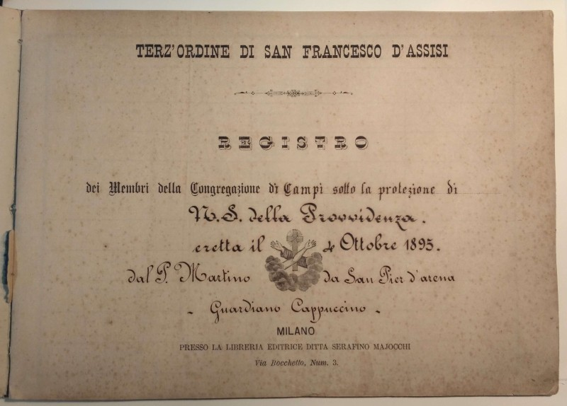 Fondo del Terz'Ordine Francescano del convento di Campi <Campi, Genova>