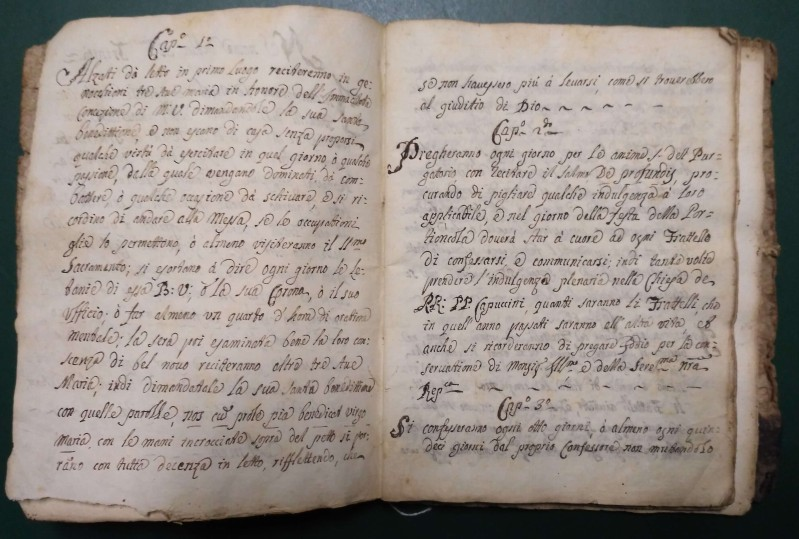 Fondo del Terz'Ordine Francescano del convento di Pieve di Teco <Pieve di Teco>