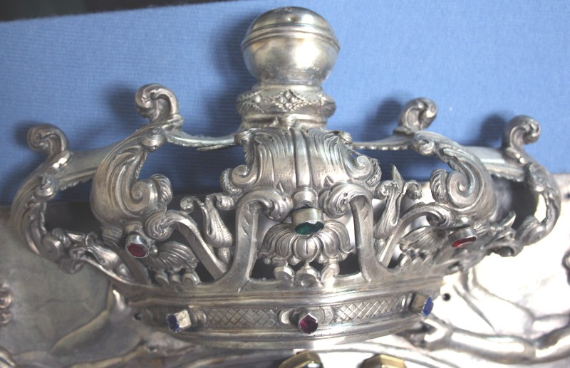 Abbate L. sec. XIX, Corona dell'Achiropita
