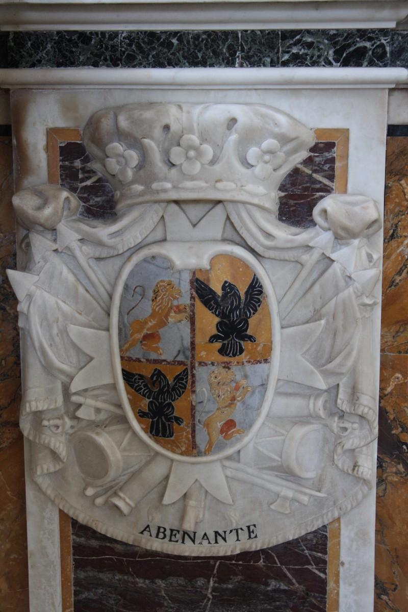 Maestranze napoletane (1796), Stemma Famiglia Abenante 1/2