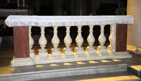 Stuccatore romano sec. XVII, Balaustra 2/2