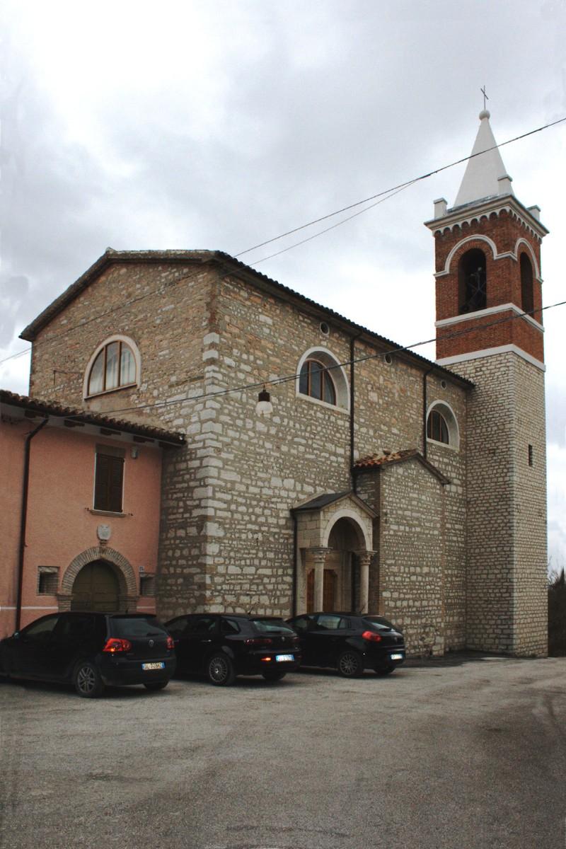 Chiesa di San Lorenzo Martire <Coldellanoce, Sassoferrato>