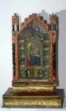 Bottega abruzzese sec. XVI, Reliquiario a tabella