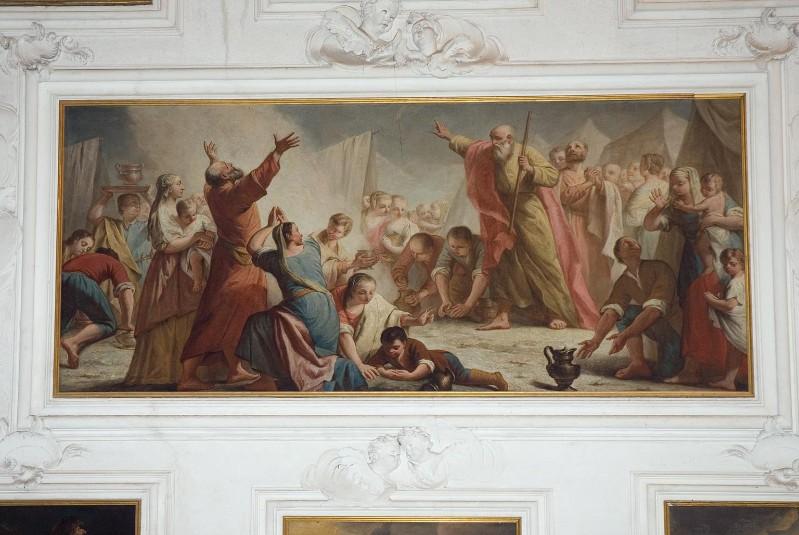 Angeli G. metà sec. XVIII, Caduta della manna