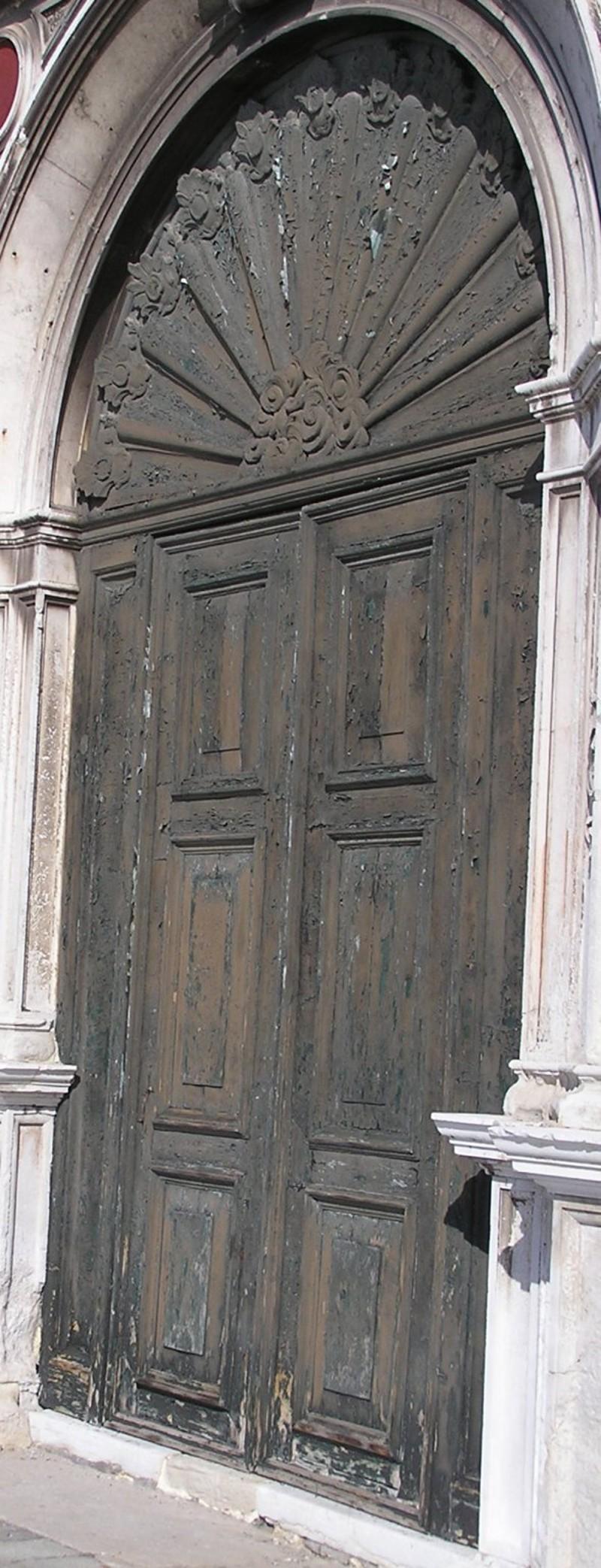 Abbondi A. lo Scarpagnino sec. XVI, Porta