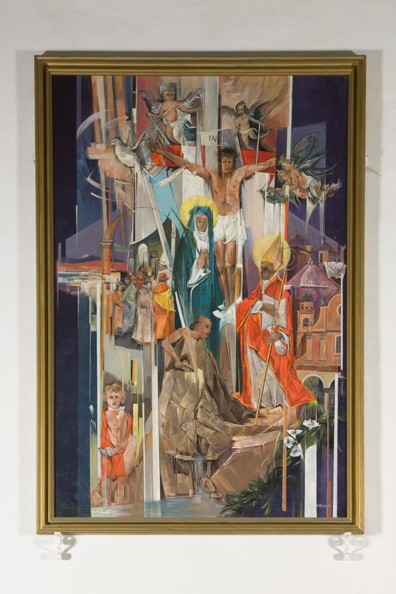 Albonetti R. (1995), Dipinto con Conversione di Sant'Agostino