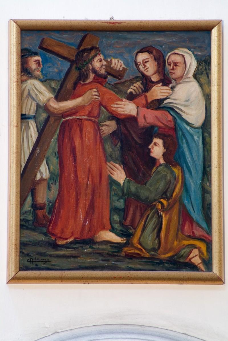 Adamo C. (1964), Gesù Cristo incontra la Madonna e le pie donne