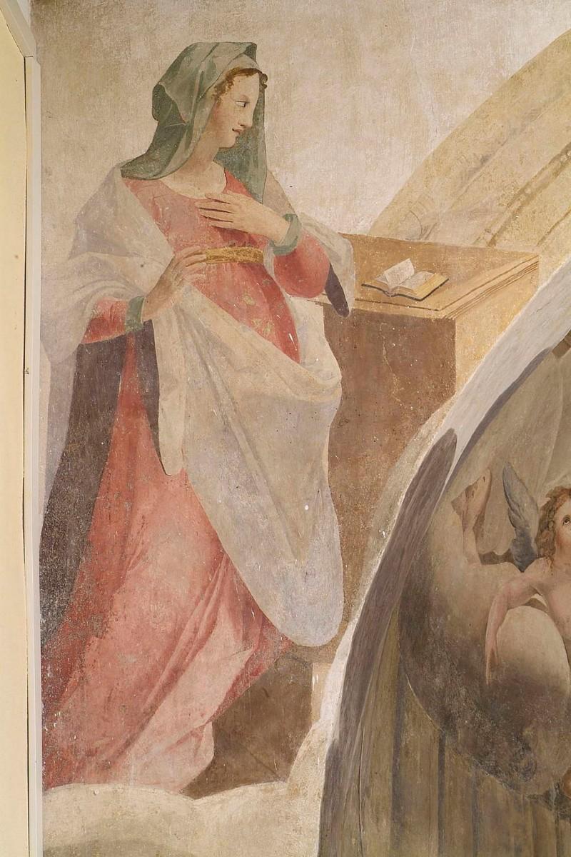 Attribuito Torresani B. - Torresani L. sec. XVI, Affresco arco trionfale - 3861651 - it